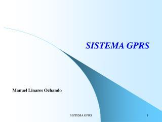 SISTEMA GPRS