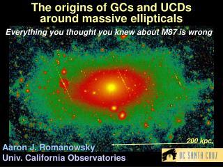 The origins of GCs and UCDs  around massive ellipticals