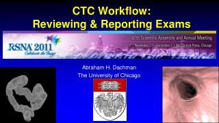 CTC Workflow: Reviewing & Reporting Exams