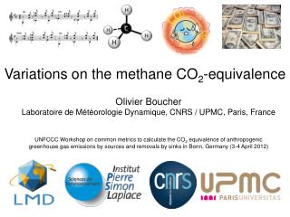 Variations on the methane CO 2 -equivalence