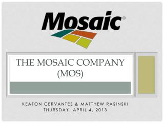 The Mosaic Company (MOS)