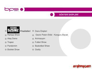 Finalistleri  Dans Ekipleri Rampa Show Gezici Paten Ekibi - Kanguru Bacak