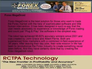 Top ten trusted profitable forex trading robot Megadroid