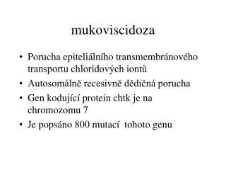 mukoviscidoza