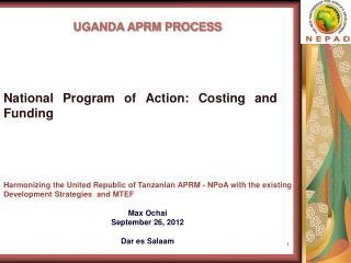 UGANDA APRM PROCESS