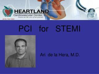 PCI   for   STEMI