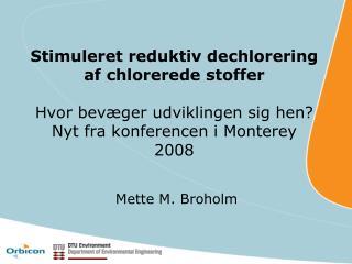 Mette M. Broholm