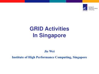 GRID Activities In Singapore