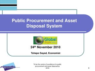Public Procurement and Asset Disposal System