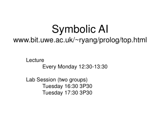 Lecture 2: Syntax