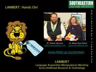 LAMBERT: Hands On!