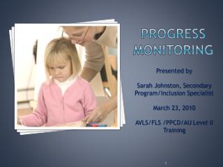 Progress Monitoring