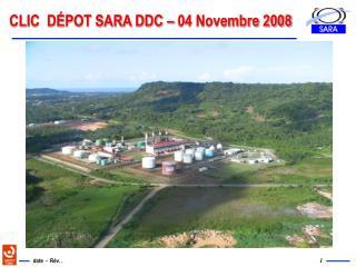 CLIC  DÉPOT SARA DDC – 04 Novembre 2008