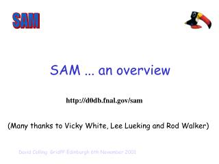 SAM ... an overview