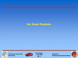Der Smart Roadster