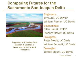 Comparing Futures for the Sacramento-San Joaquin Delta