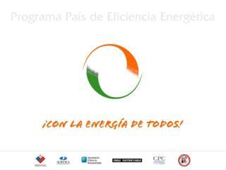 Programa País Eficiencia Energética - Instrumentos económicos y fiscales -