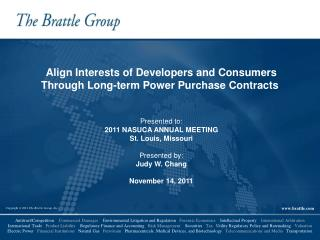 Align Interests of Developers and Consumers Through Long-term Power Purchase Contracts
