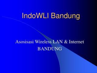 IndoWLI Bandung