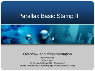 Parallax Basic Stamp II