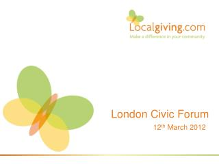 London Civic Forum