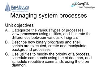 Managing system processes