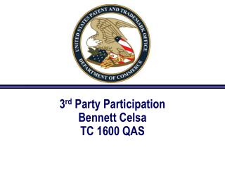 3rd Party Participation Bennett Celsa TC 1600 QAS