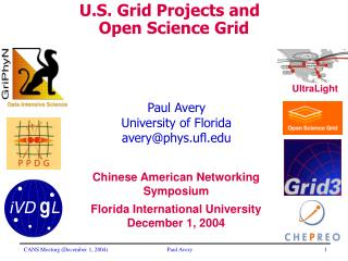 Paul Avery University of Florida avery@phys.ufl