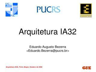 Arquitetura IA32