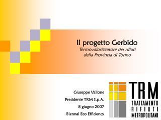 Il progetto Gerbido Termovalorizzatore dei rifiuti della Provincia di Torino