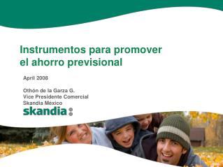Instrumentos para promover el ahorro previsional