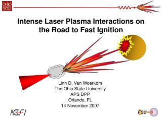 Intense Laser Plasma Interactions on the Road to Fast Ignition