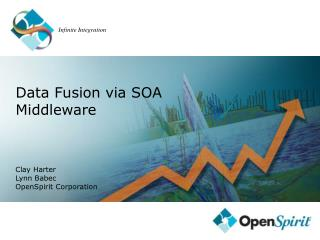 Data Fusion via SOA Middleware