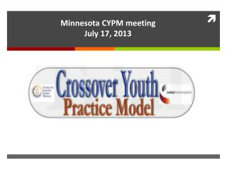 Minnesota CYPM meeting  July 17, 2013