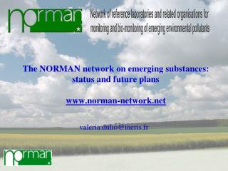The NORMAN network on emerging substances: status and future plans   norman-network