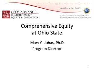 Comprehensive Equity  at Ohio State