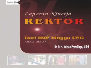 Dr. Ir. H. Nelson Pomalingo, M.Pd