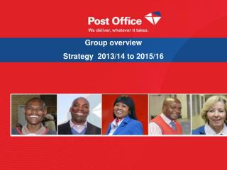 Group overview Strategy  2013/14 to 2015/16