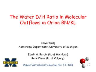 The Water D/H Ratio in Molecular Outflows in Orion BN/KL