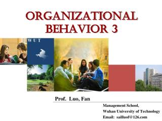 Organizational Behavior 3