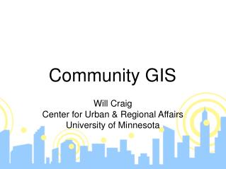 Community GIS