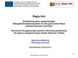 Regio Info