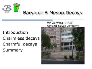 Baryonic B Meson Decays