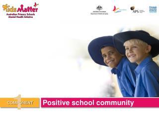 Positive school community