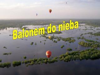Balonem do nieba