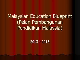 Malaysian Education Blueprint (Pelan Pembangunan Pendidikan Malaysia)