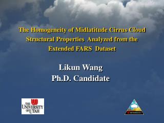 Likun Wang Ph.D. Candidate