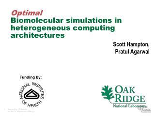 Optimal Biomolecular simulations in heterogeneous computing architectures