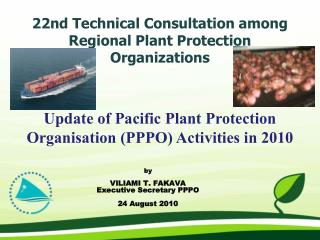 22nd Technical Consultation among Regional Plant Protection Organizations