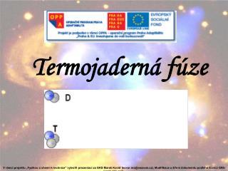 Termojaderná fúze